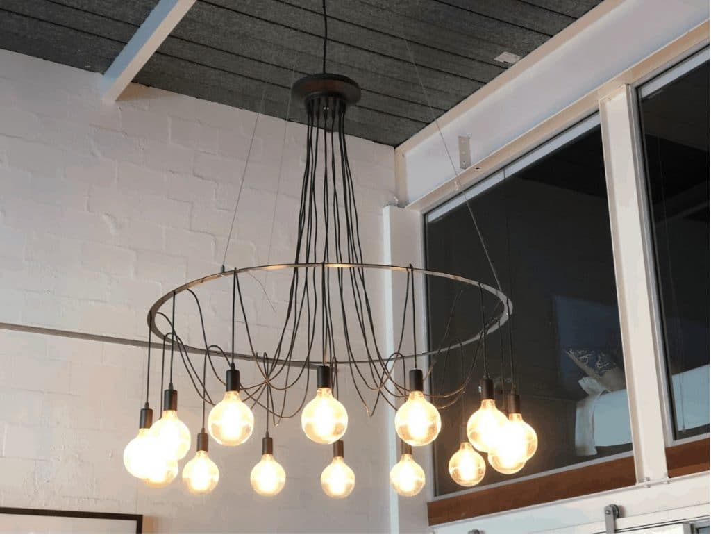 How we made DIY Industrial Chandelier