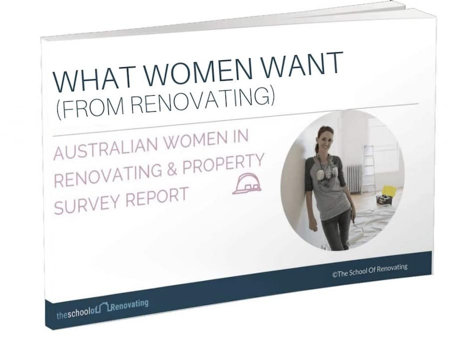what Women want from renovating