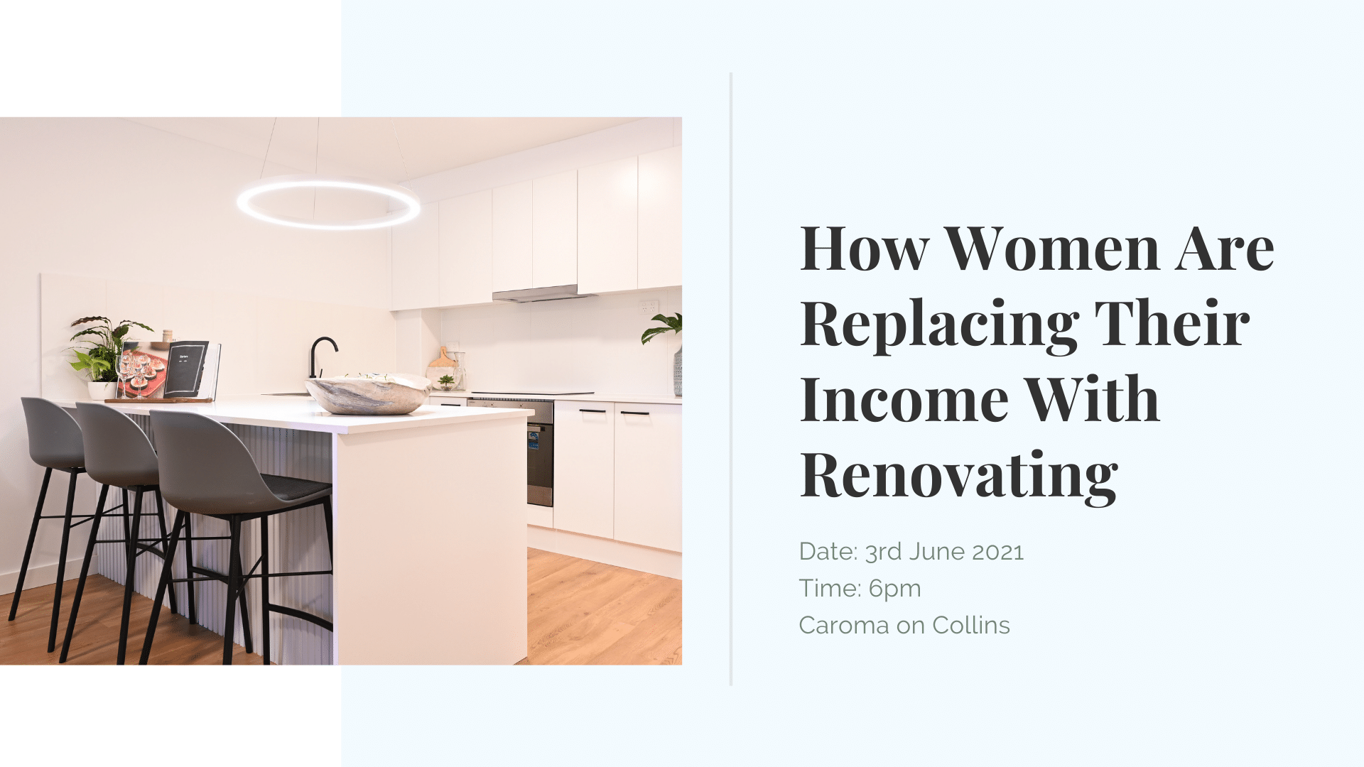 income with renovating