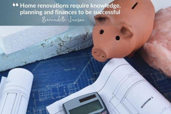 finance a renovation